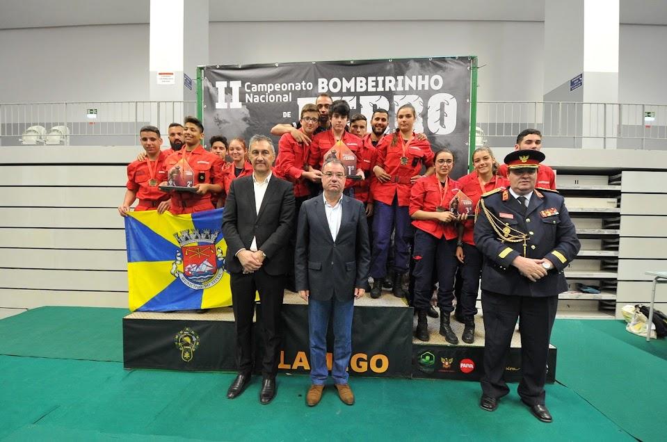 Bombeiros de Lamego realizaram o II Campeonato Nacional Bombeirinho de Ferro 2019