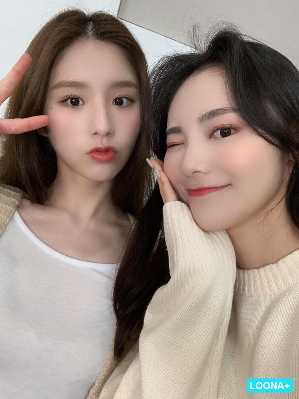 heejin jinsoul 1