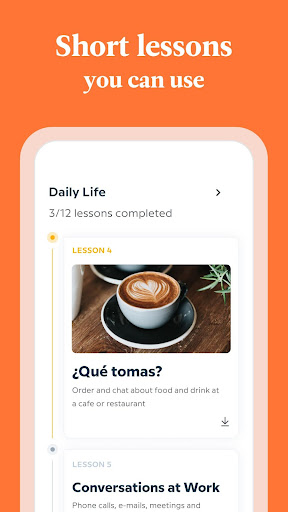 Babbel - Learn Languages - Spanish, French & More screenshot 3