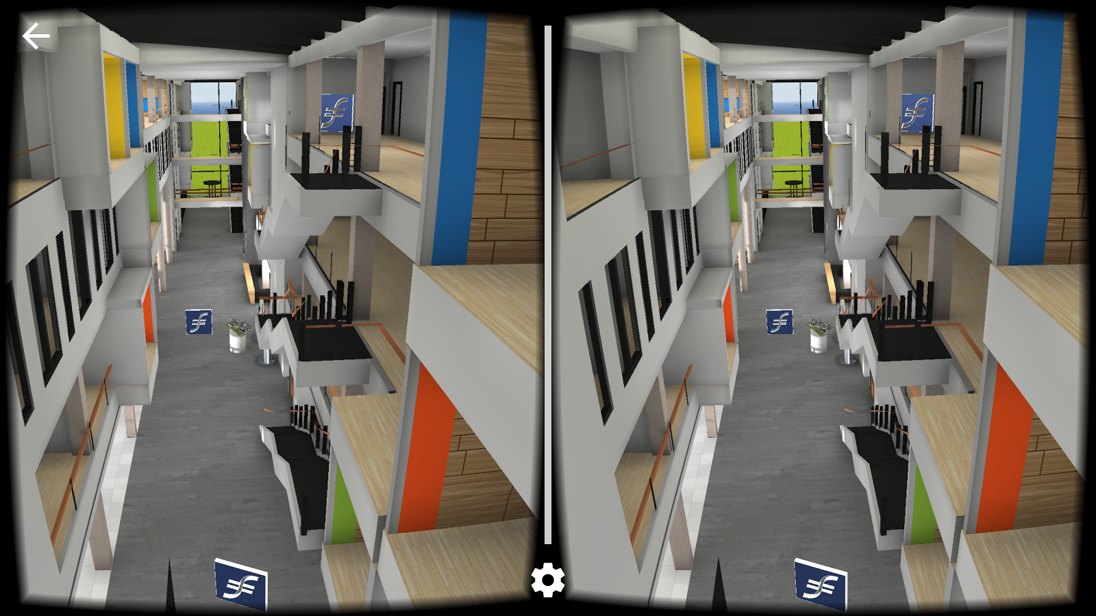 Frankfurt School in 3D- screenshot