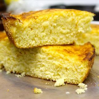 Buttery Sweetened Cornbread.