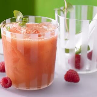 Mango-Raspberry Smoothie.