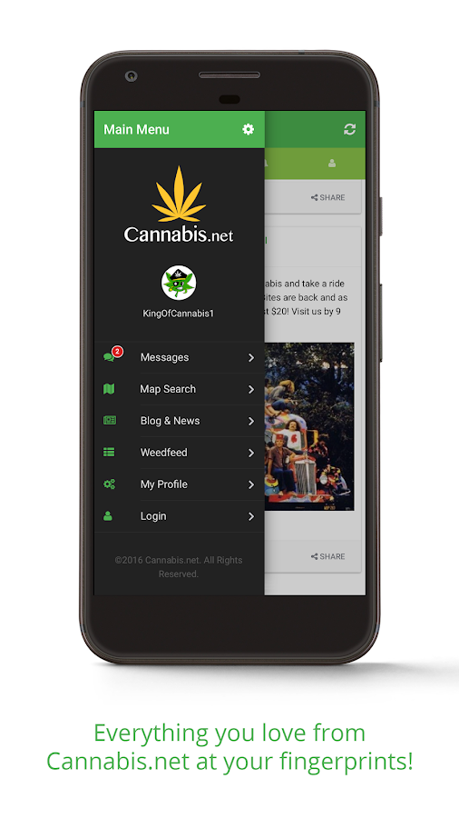Cannabis.net- screenshot