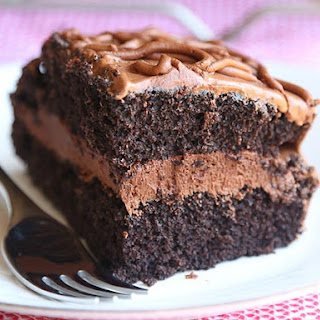Frosted Fudge Cake