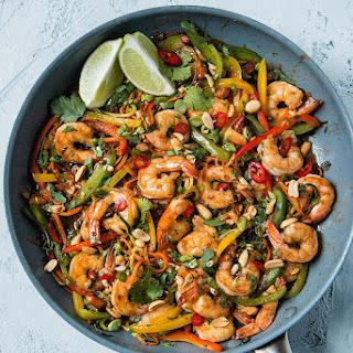 15 Minute Shrimp And Vegetable Stir Fry.