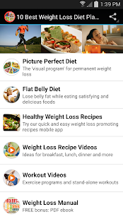 10 best weight loss diet plans apps on google play screenshot image forumfinder Gallery