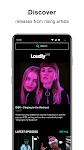 screenshot of Loudly - Social Music Platform