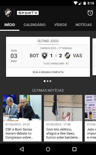 Baixar Vasco SporTV para Android no Baixe Fácil! 8d4a2b3bdcb68