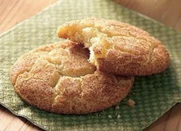 Snickerdoodle Cookies with Betty Crocker cake mix...B.C.
