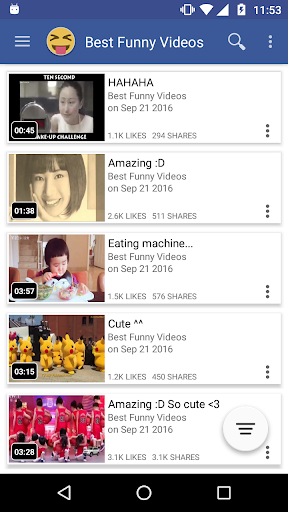 Just Video Feeds for Facebook to explore Videos 4.180926 screenshots 5