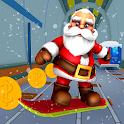 Subway Santa Surf Runner: Santa Run Game Adventure icon