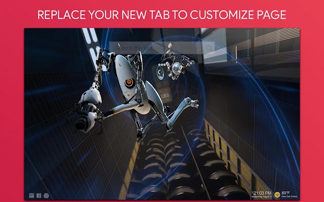 Portal Wallpaper HD Custom New Tab