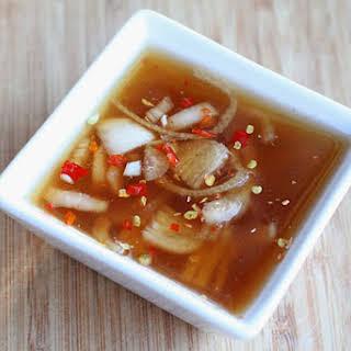 Thai Shallot Sauce.