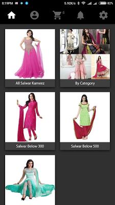 Salwar Kameez Suits Design App - screenshot