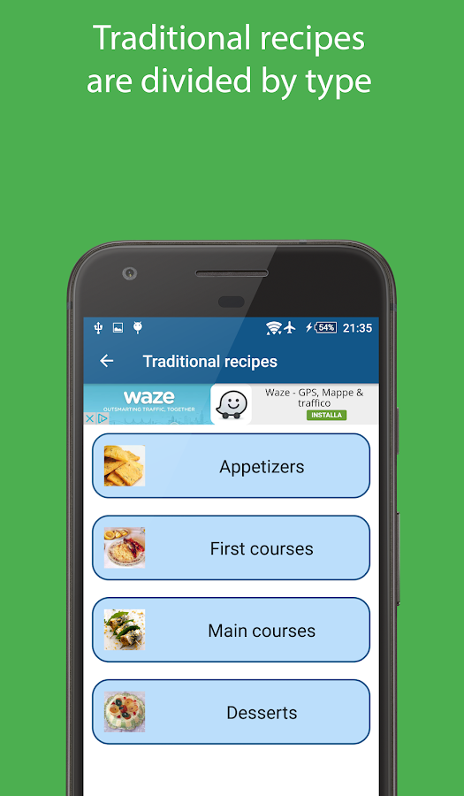 Sicilian Recipes- screenshot