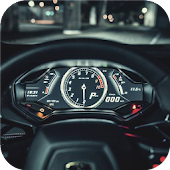 Speedometer. Live wallpapers