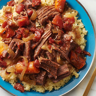 Slow-Cooker Moroccan Beef Tagine