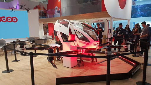 Fancy a ride in a 5G aerial taxi?