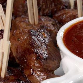 Honey Balsamic Steak Bites.