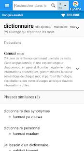 Swahili-Français Dictionnaire - náhled