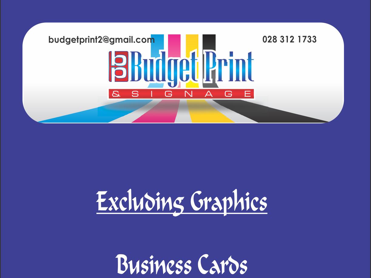 Budget Print & Signage - Commercial Printer in Hermanus