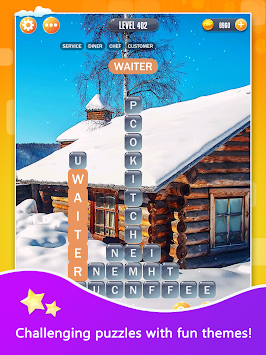 Word Town - Free Brain Puzzle Games apk screenshot