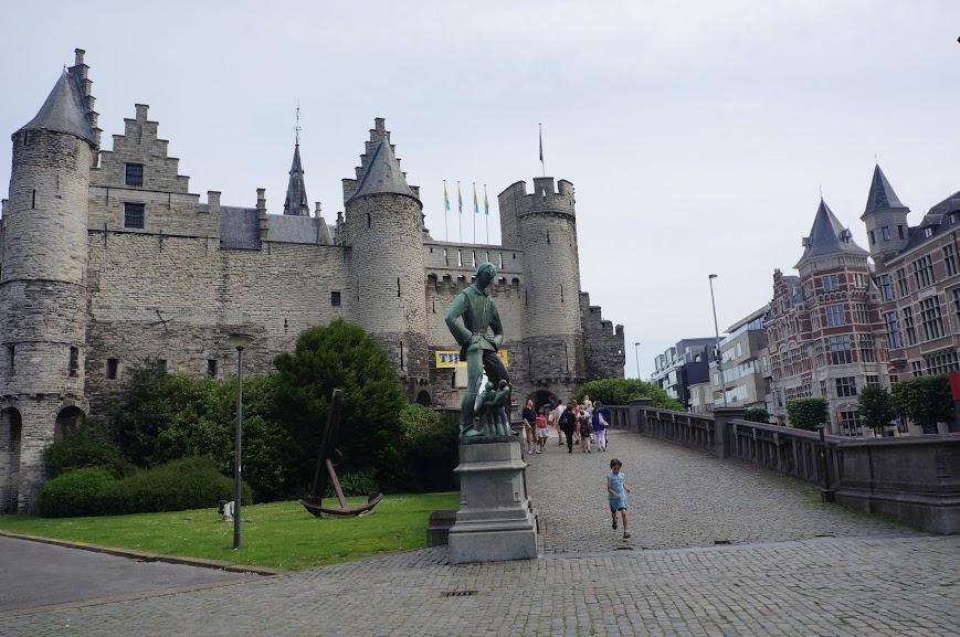 Het Steen fortress, Antwerpen, Belgium (2014)