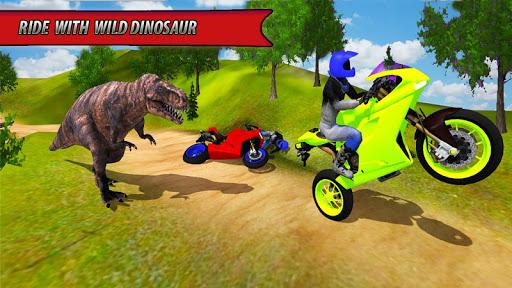 Bike Racing Dino Adventure 3D  screenshots 5