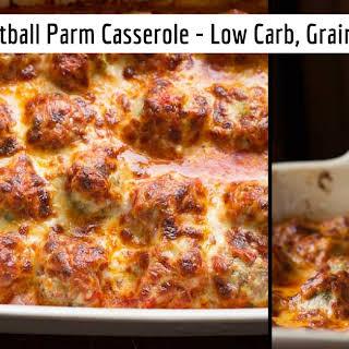 Meatball Parm Casserole.