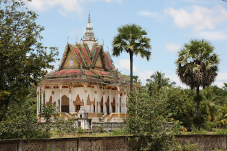 Photo: Year 2 Day 38 -  Beautiful Wat on the Side of the Road