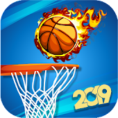 3D Basketball Shoot 2K19 : Flick Battle Shoot 2019 Android APK Download Free By MnR Studio Ltd