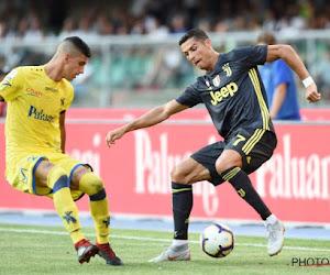 Cristiano Ronaldo n'a pas inscrit de but pour ses débuts à la Juve, mais a marqué le gardien adverse