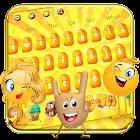 Cute Star Struck Emoji Keyboard icon