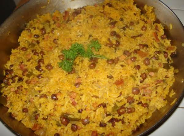 Carribbean Peas And Rice, Or (arroz Con  Gandules)