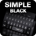 Simple Black Keyboard Theme icon