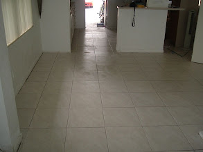 Photo: ceramic tile installation in Clearwater Forida