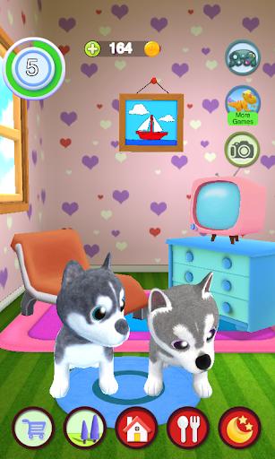 Talking Husky Dog apkdebit screenshots 6