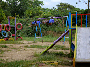 Photo: Playground at the primary school