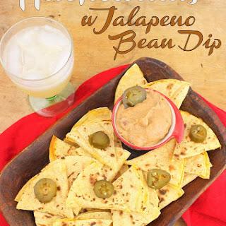 Nachodillas with Jalapeno Bean Dip