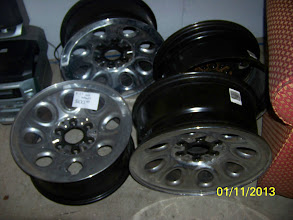 Photo: 17 inch wheels $100 for set