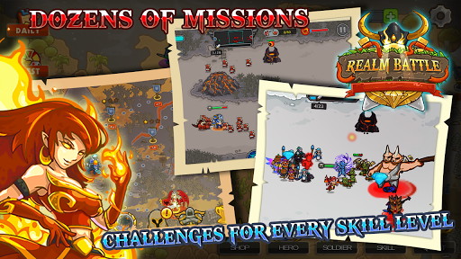 Realm Battle: Heroes Wars 1.34 screenshots 10