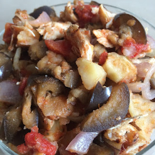 Eggplant Potato Chicken Recipes