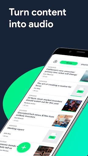 elocance: Article, Newsletter, PDF reader app screenshots 1