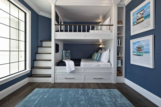 Add A Rail on The Top Bunk for Safeness