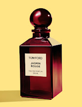 Photo: TOM FORD Jasmin Rouge, a voluptuous, saturated spiced floral. Eau de Parfum. 250 ml, $475. 50 ml, $195. Beauty Level. 212 872 8775