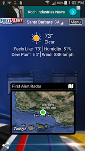 KEYT-KCOY-KKFX First Alert – The KEYT weather app gives you the