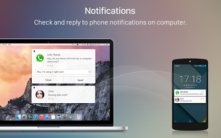 AirDroid: File & Notifications Screenshot 3