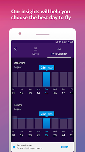 Cheap Flights & Hotels momondo  screenshots 4