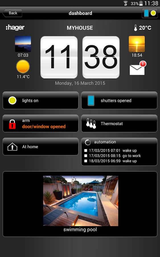 domovea tablet android apps auf google play. Black Bedroom Furniture Sets. Home Design Ideas