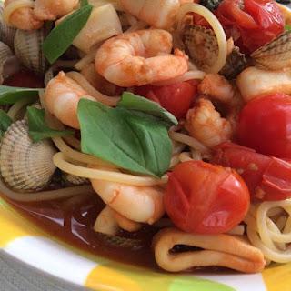 Syn Free Seafood Pasta